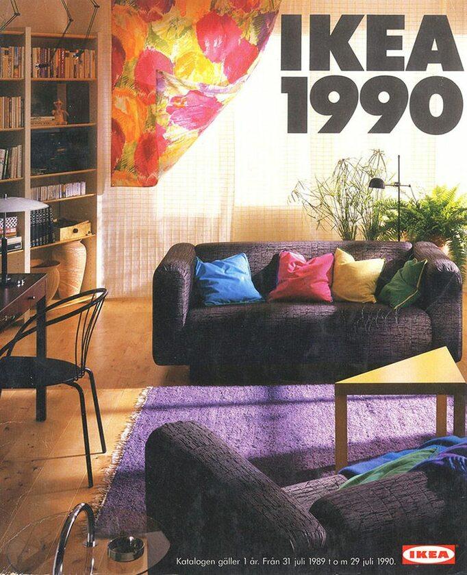 Okładka katalogu IKEA z 1990 roku