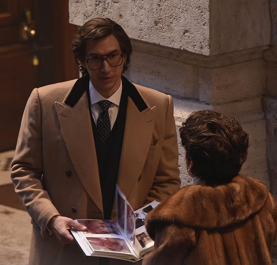 "Kadr z filmu ""House of Gucci"""