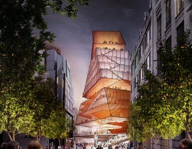 Nowe centrum kulturalne Londynu. Futurystyczny budynek za niemal 1,4 mld zł