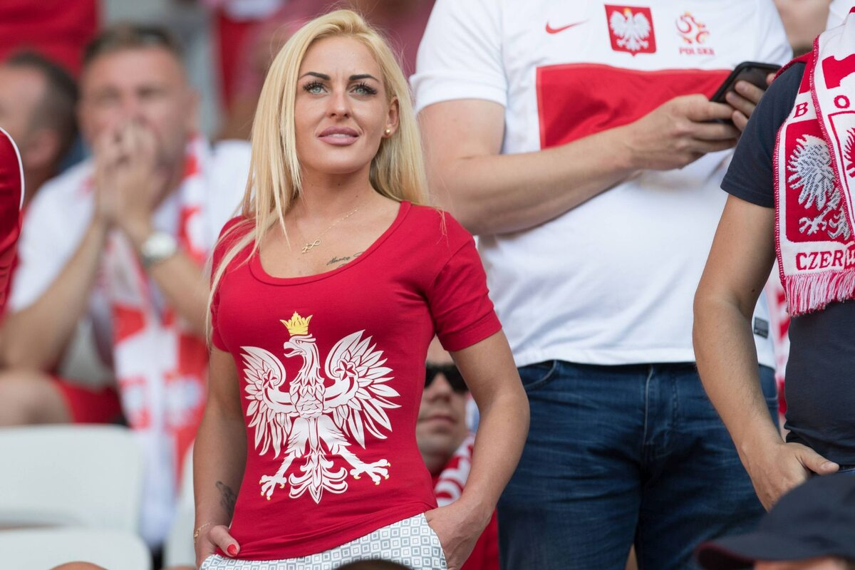 Polska kibicka na Euro 2016 Polska kibicka na Euro 2016