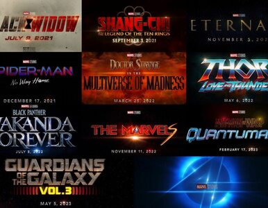 Wielka ofensywa Marvela. Nowe superprodukcje średnio co kwartał
