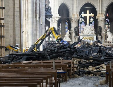 Co było przyczyną pożaru katedry Notre Dame? Prokuratura podaje dwie...