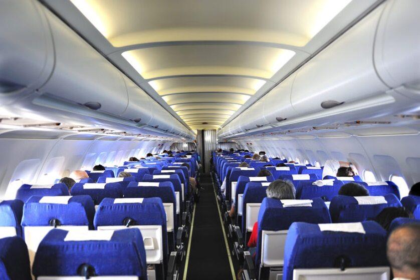 samolot, wnętrze (zdj. ilustracyjne)