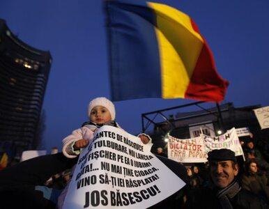 """Rumunia: dymisja za nazwanie demonstrantów """"brutalnymi mieszkańcami..."""