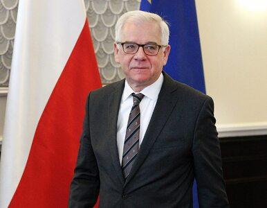 Czaputowicz przerwał milczenie. Ocenił decyzję Andrzeja Dudy i postawę...