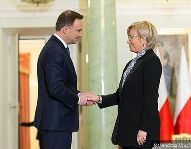 Prezydent przyjął ślubowanie od sędzi TK Julii Przyłębskiej