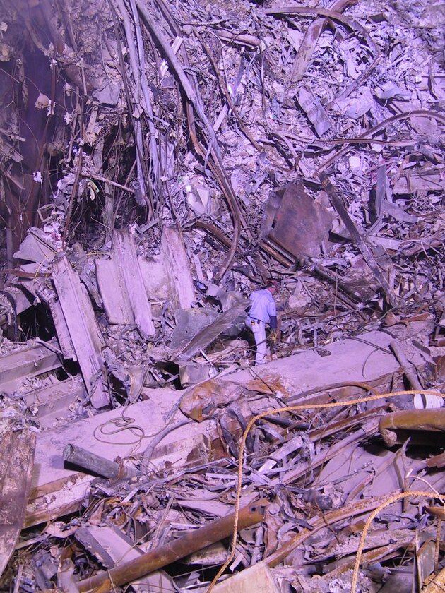 Strefa zero. Zniszczenia po atakach z 11 września
