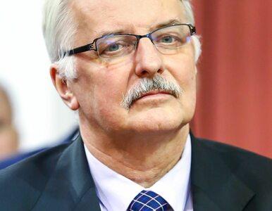 """Witold Waszczykowski o następcy Czaputowicza """"Nie znam jego kariery. Nie..."""