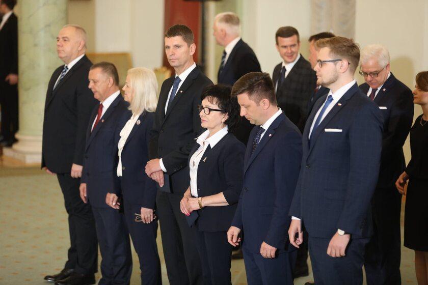 Nowo powołani ministrowie