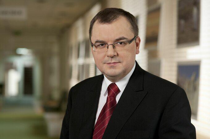 Paweł Sałek, wiceminister środowiska ipełnomocnik rządu ds. polityki klimatycznej