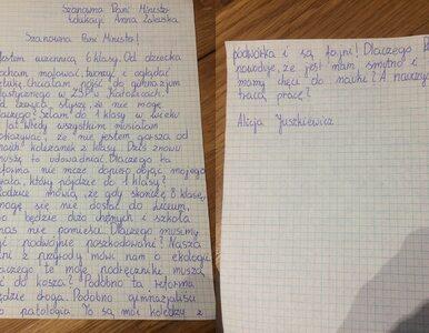 """11-latka napisała list do minister edukacji. """"Dlaczego musimy być..."""