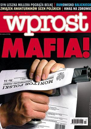 Okładka tygodnika Wprost nr 13/2005 (1165)
