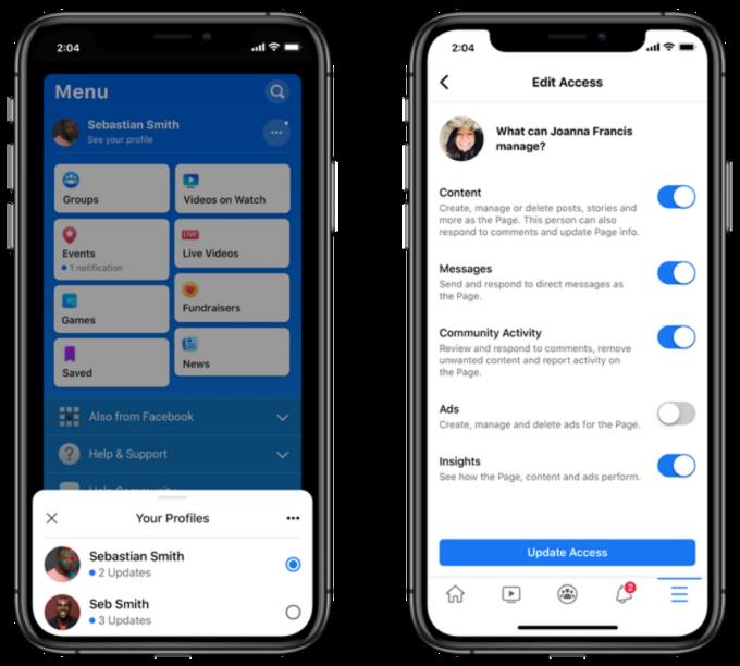 Nowa wersja istara wersja aplikacji Facebooka