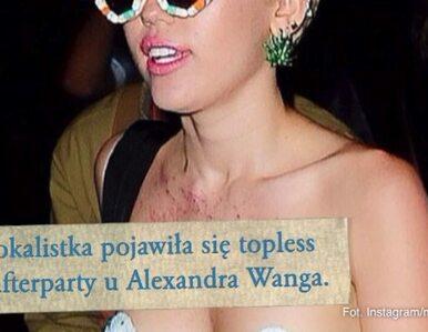 Miley Cyrus znów szokuje