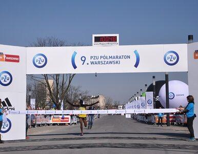 9. PZU Półmaraton Warszawski. Ponad 11 tys. uczestników, rekordy...