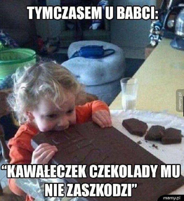 Memy z okazji Światowego Dnia Czekolady