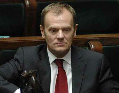 Tusk: zaskakuje mnie tempo współpracy PiS z SLD