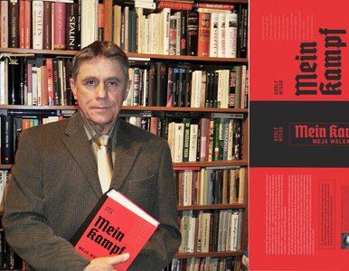 """Polacy kupili blisko 20 tys. egzemplarzy """"Mein Kampf"""". """"Ta książka..."""
