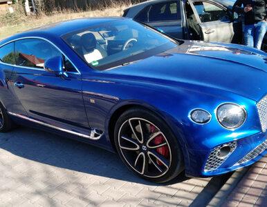 Kierowca Bentleya za 1,5 mln zostawił odpalone auto i poszedł po bułki....