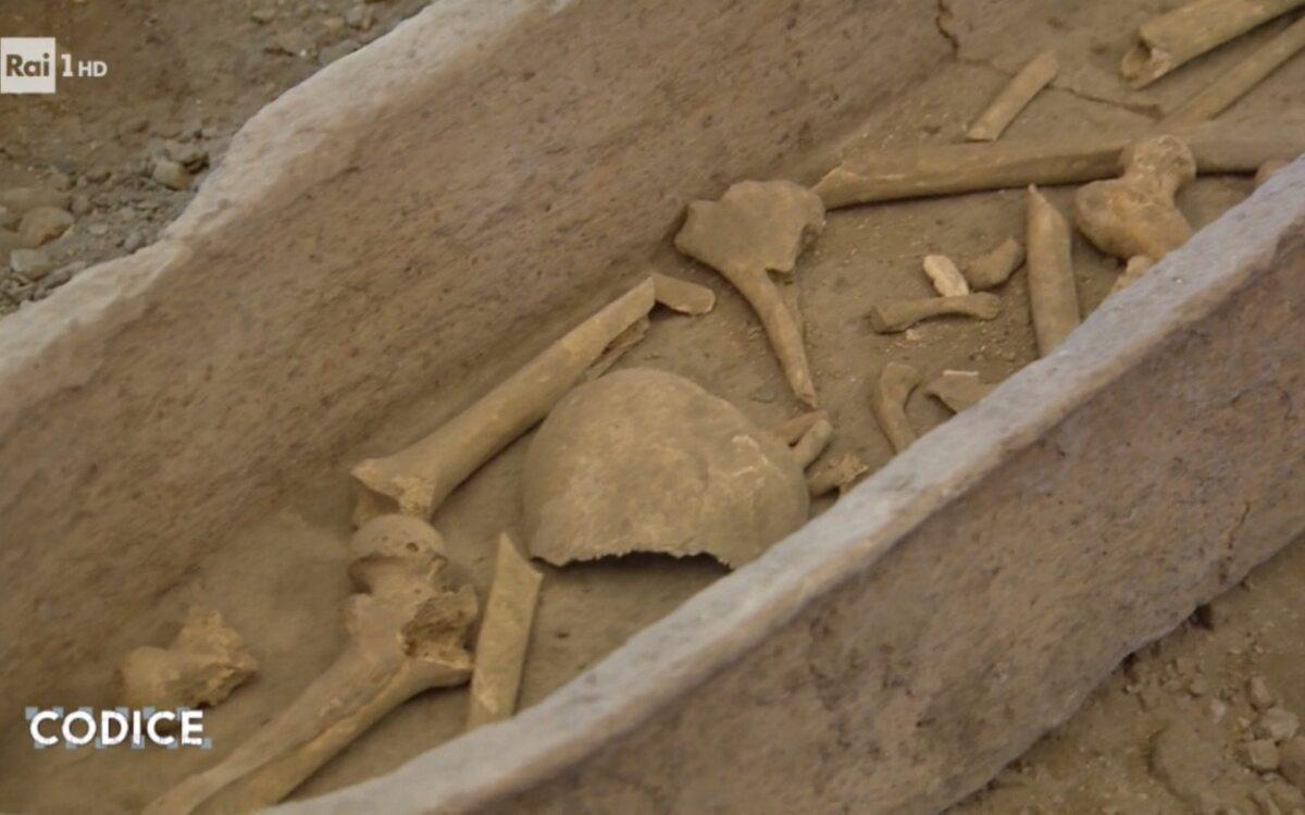Kości znalezione w kościele