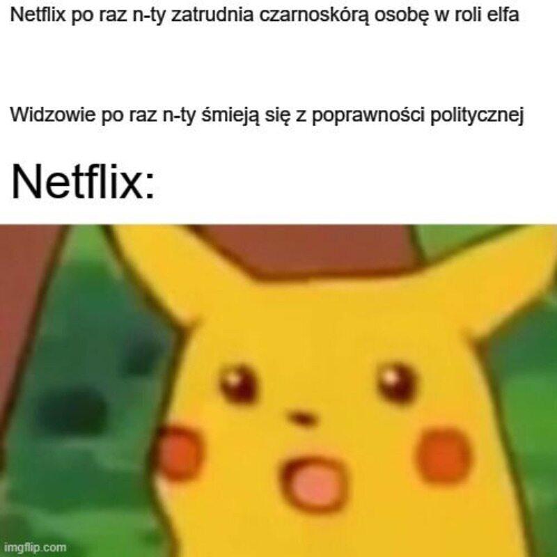 Mem atakujący Netfliksa za poprawność polityczną