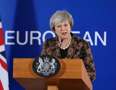 Theresa May po spotkaniu z premierem Morawieckim. Powtórzyła ważną...