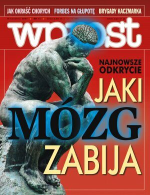 Okładka tygodnika Wprost nr 15/2007 (1268)