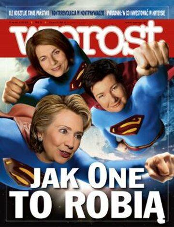 Okładka tygodnika Wprost nr 9/2008 (1314)