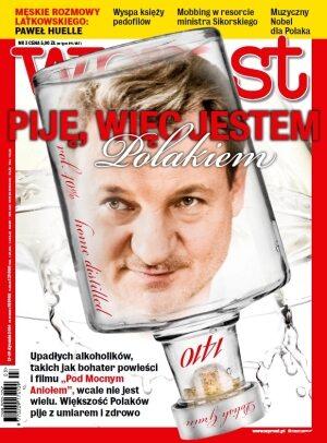 Okładka tygodnika Wprost nr 3/2014 (1611)
