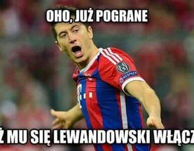 Lewandowski znowu szaleje! Najlepsze memy po hat-tricku w Lidze Mistrzów