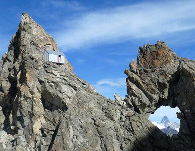Dom 3 tysiące m n.p.m. Na zboczu alpejskiego szczytu powstał niezwykły...