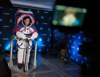 W takim kombinezonie pierwsza kobieta stanie na Księżycu. NASA pokazała...