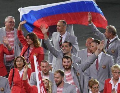 Białorusin niósł rosyjską flagę na igrzyskach paraolimpijskich. Odebrano...