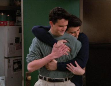 """""""Przyjaciele"""" – quiz z serialu. Pytamy o wyprowadzkę Joeya i Richarda..."""