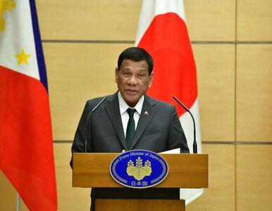 Prezydent Filipin Rodrigo Duterte: Byłem gejem, ale wyleczyły mnie...