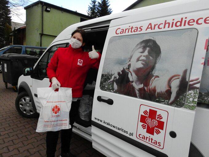 Paczka Caritas Archidiecezji Krakowskiej