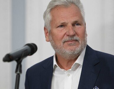 Aleksander Kwaśniewski przewiduje wcześniejsze wybory. Zakpił przy tym z...