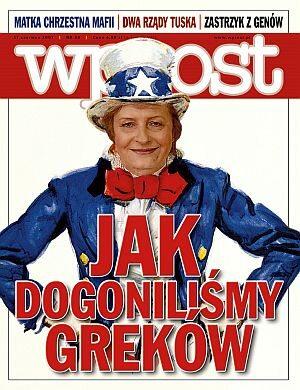 Okładka tygodnika Wprost nr 24/2007 (1277)