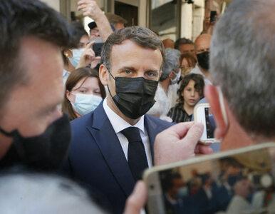 Prezydent Francji spoliczkowany podczas spotkania z wyborcami