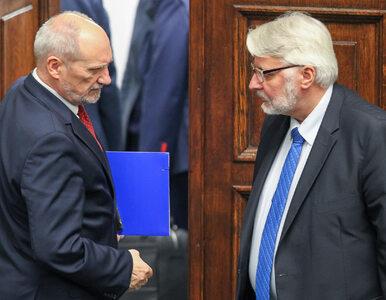 Macierewicz mówi o pomocy NATO ws. Smoleńska. Waszczykowski: To niemożliwe
