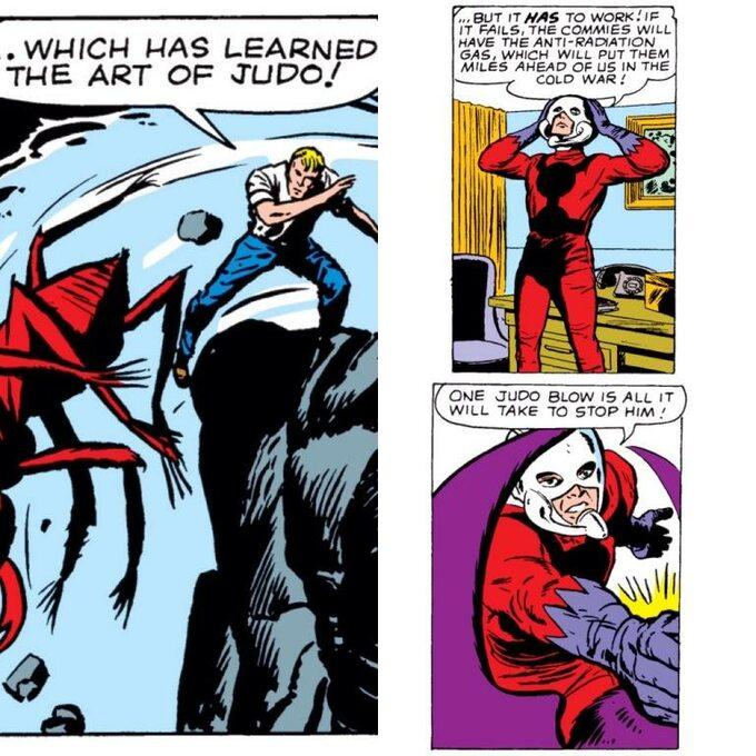 Ant-Man komiks -kadr