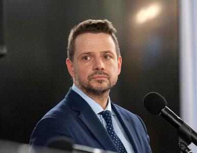 Pierwsze takie wystąpienie Trzaskowskiego w nowej roli. Przekona wyborców?