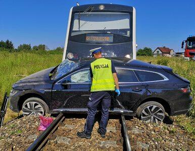 Tragedia na przejeździe kolejowym w Wielkopolsce. Nie żyje mężczyzna