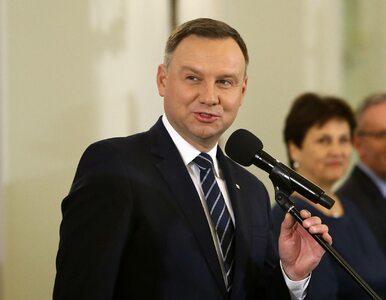 Prezydent przyjął ślubowanie od nowych sędziów SN. Dziennikarze...