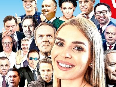 Ranking 50 wpływowych, upadek autorytetu JPII, zmiany uDudy. Nowy...