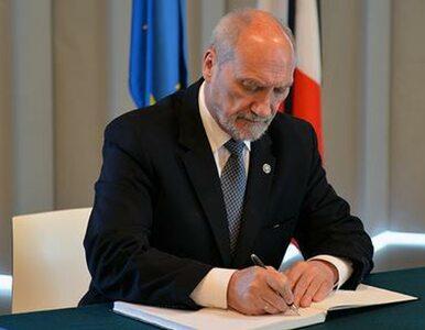 Macierewicz po zamachu we Francji: Polska na pewno się nie ugnie