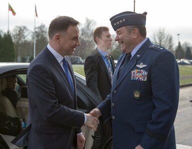 Spotkanie Dudy z głównodowodzącym siłami NATO. Tematem szczyt Sojuszu w...