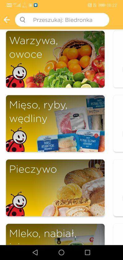 Screen z aplikacji Glovo