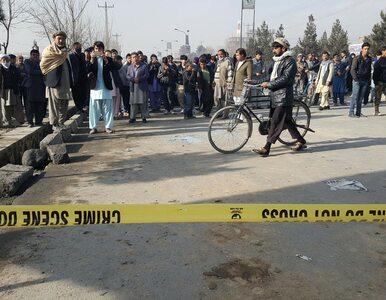 Zamach przed parlamentem. Talibowie przyznają się do ataku