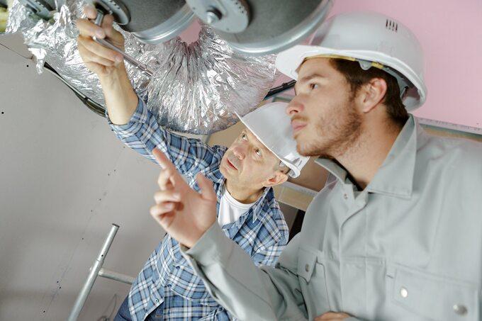 Montaż wentylacji mechanicznej